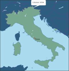 Italie Lüsner Alm