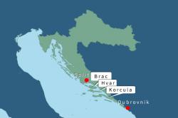 Kroatie eilanden