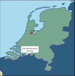 Nederland België Kalmthoutse Heide