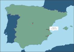 Spanje Sierra de Bernia