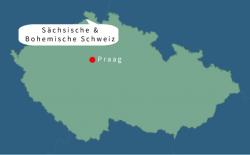 Tsjechië Sächsische en Böhmische Schweiz