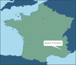 Frankrijk Haute Provence
