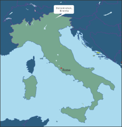 Italie Brenta Gruppe Dolomieten