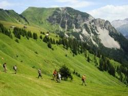Oostenrijk Grosseswalsertal wandelreis