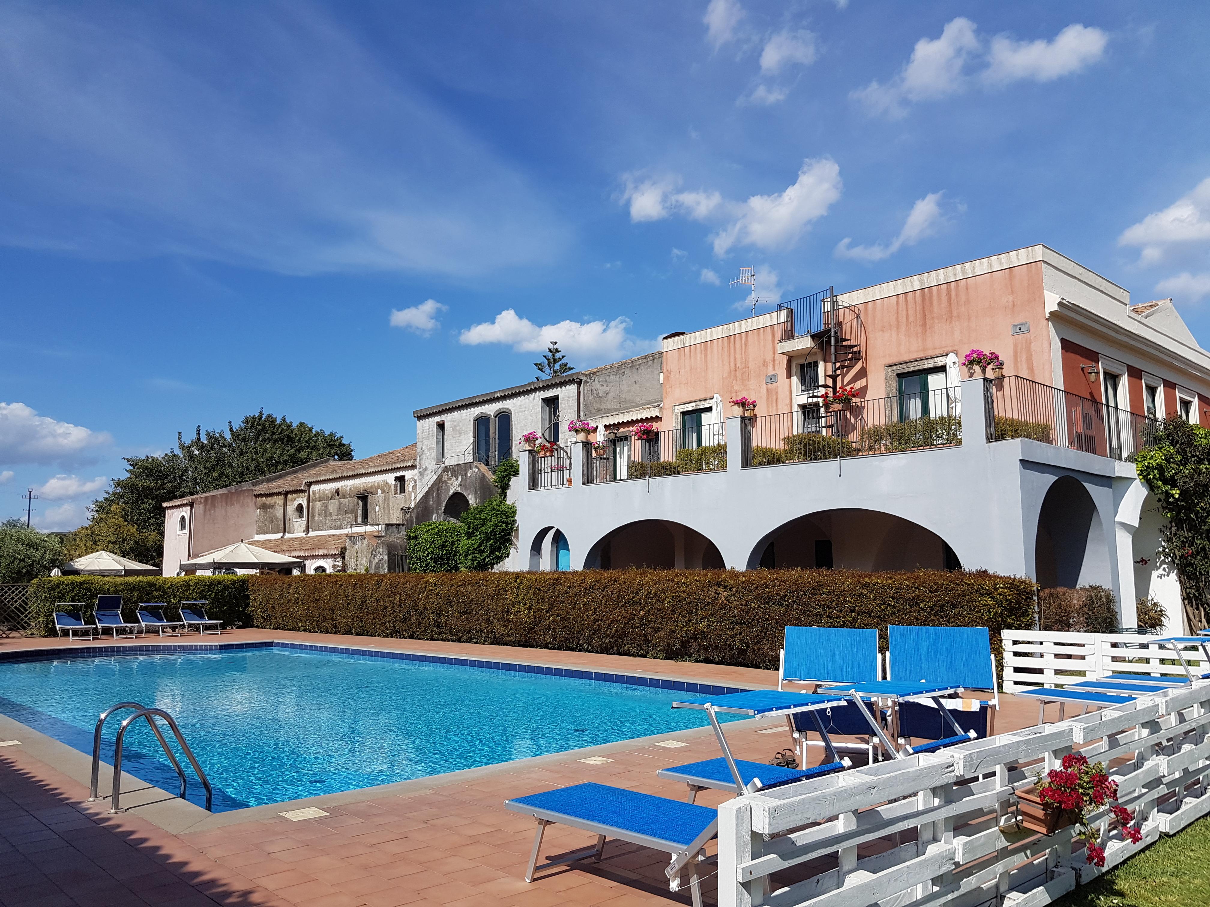 Wandelen op Sicilië - hotel Etna
