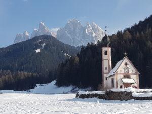 Italië, Dolomieten Val di Funes RAB (winterwandelreis)