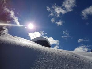 Sneeuwwandelen Italië, Dolomieten Lüsneralm