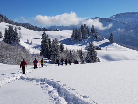 sneeuwschoenwandelen Oostenrijk - Bregenzerwald sneeuwwandelen