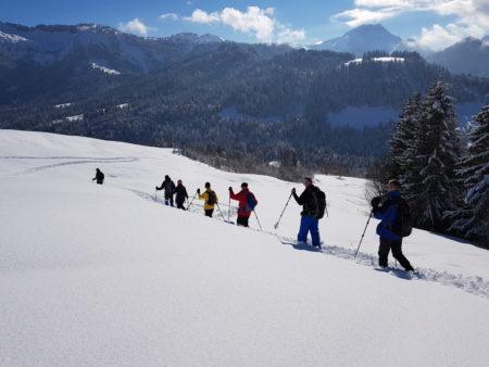 sneeuwwandelen Oostenrijk Wildschönau