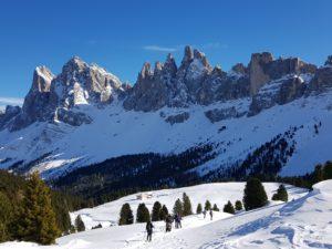 Sneeuwwandelen Dolomieten