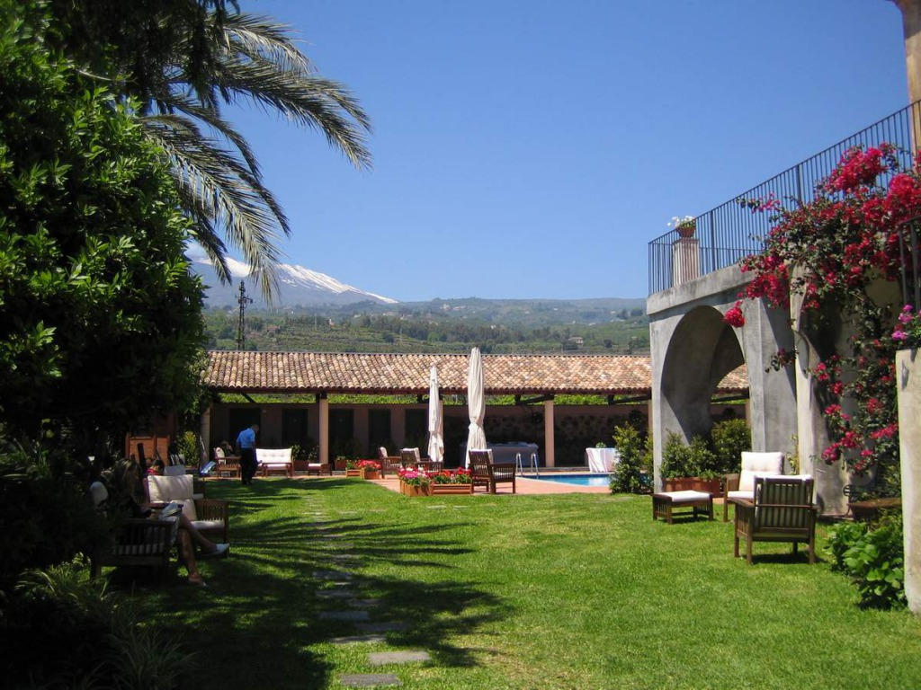 Wandelen op Sicilië-hotel