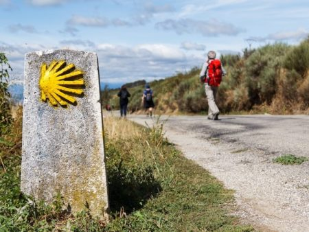 Camino portugues via de kust route