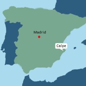 Overwinteren Spanje