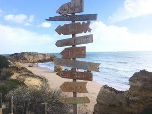 overwinteren in de Algarve in het zuiden van Portugal
