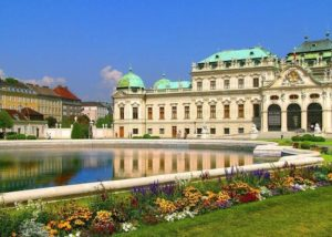 Wenen, het Belvedere paleis