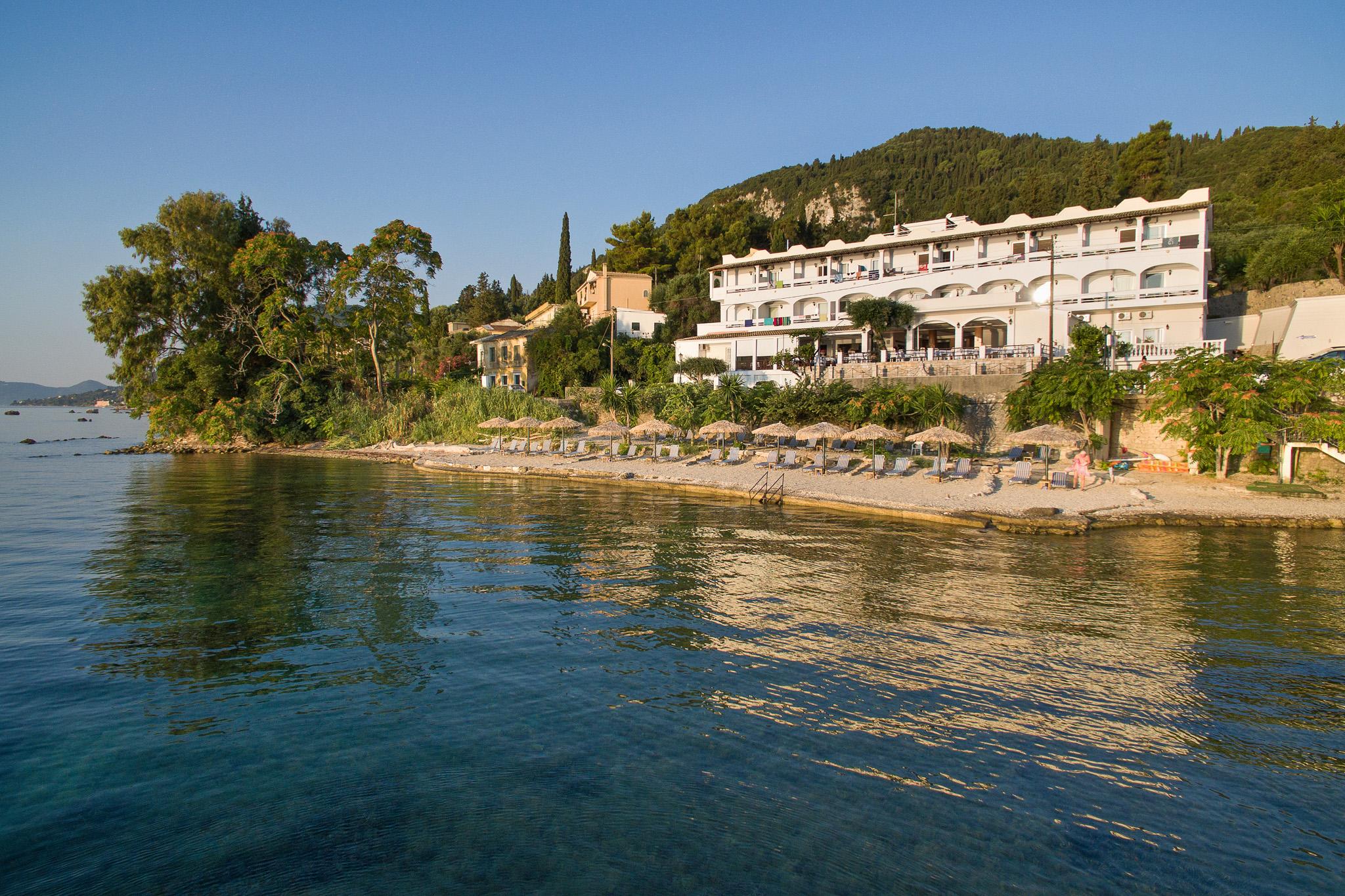 Wandelen op Corfu - hotel Kaiser Bridge