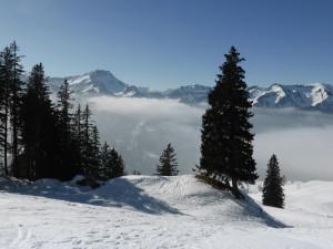 Italië, Lüsneralm, Sneeuwwandelen RAB