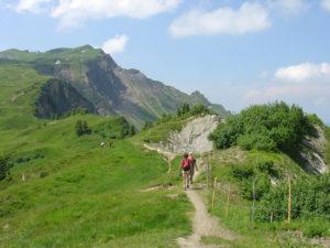 Bregenzerwald relaxed actief bergwandelen Oostenrijk