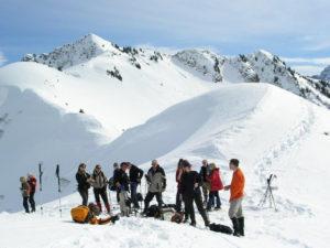 Oostenrijk, Sibratsgfäll, Sneeuwwandelen RAB